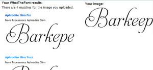 выбор шрифта